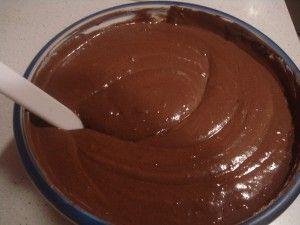 Receta bizcocho de chocolate - masa