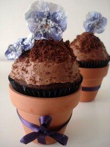 Cupcakes maceta