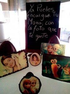 Monas de pascua personalizadas con tu foto