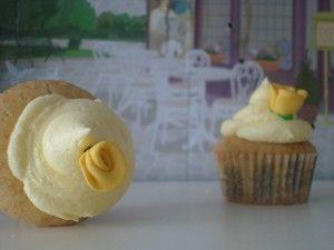 2 cupcakes limón