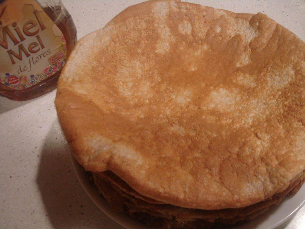 Tortitas con miel