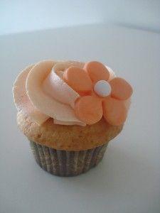cupcake naranja