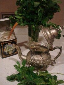 preparación té moruno