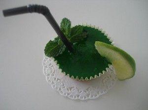 cupcake de mojito