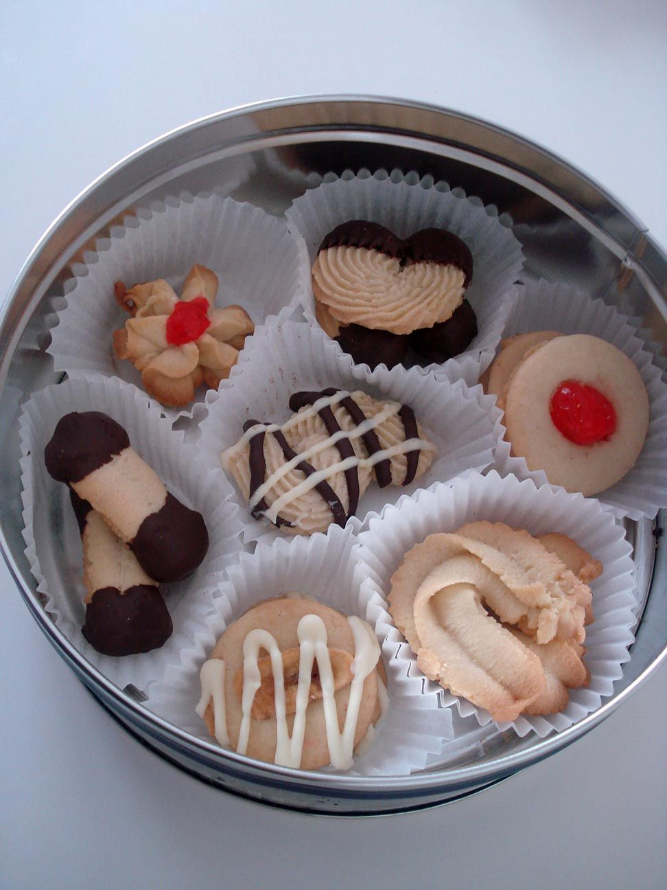 caja galletas té
