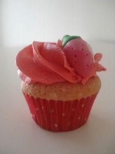 cupcake fresa